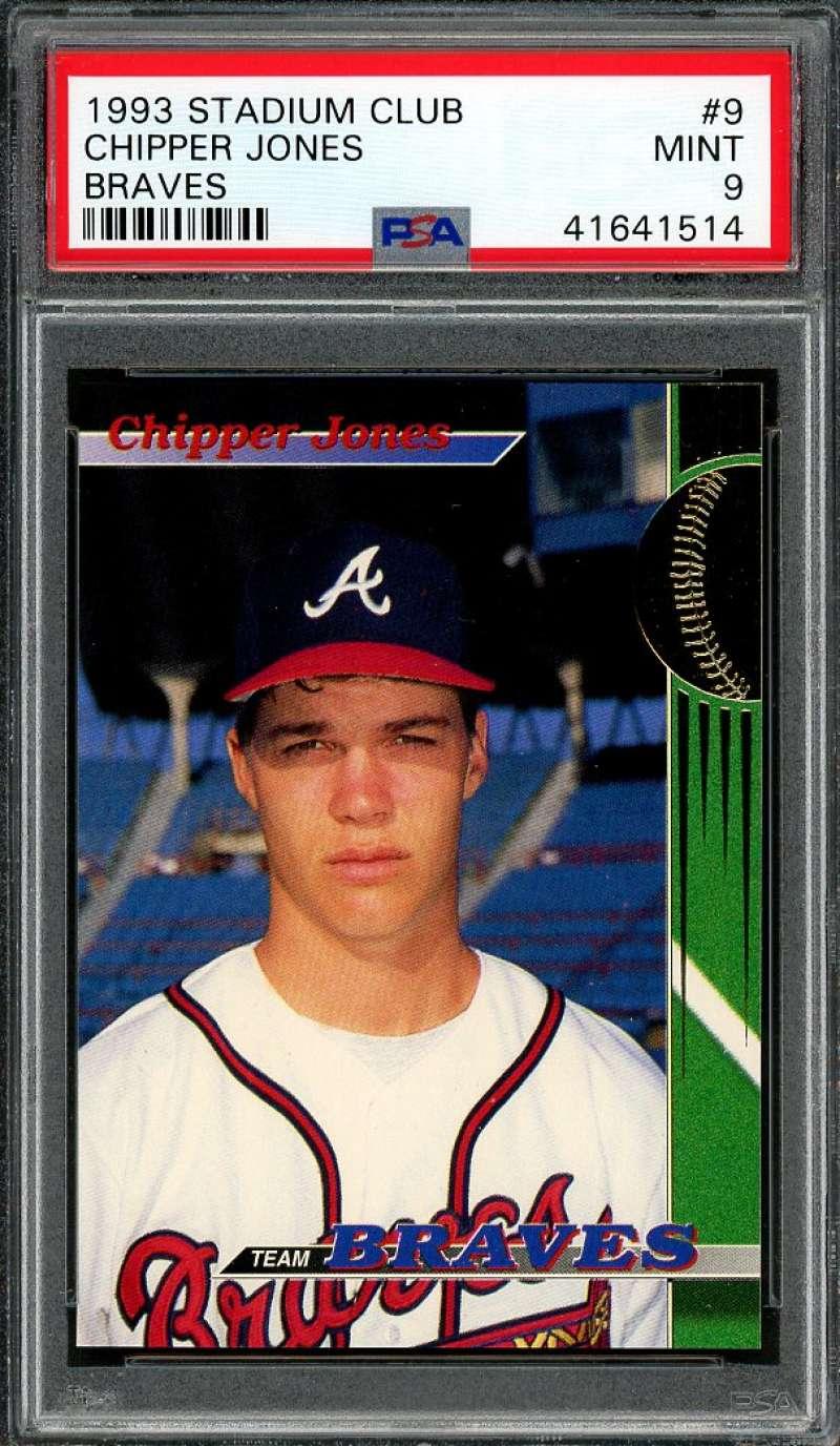 Signed Atlanta Braves Rookies Baseball 1993 Autographs-original