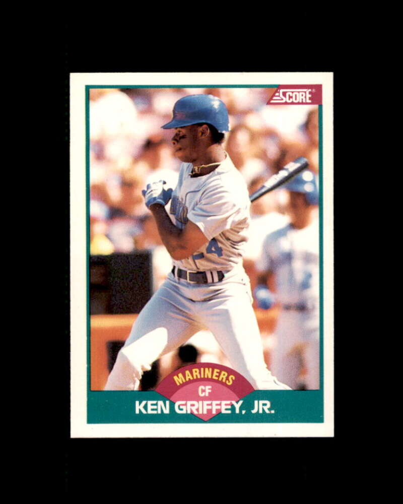 Ken Griffey Jr. Rookie Card 1989 Score Rookie/Traded #100T