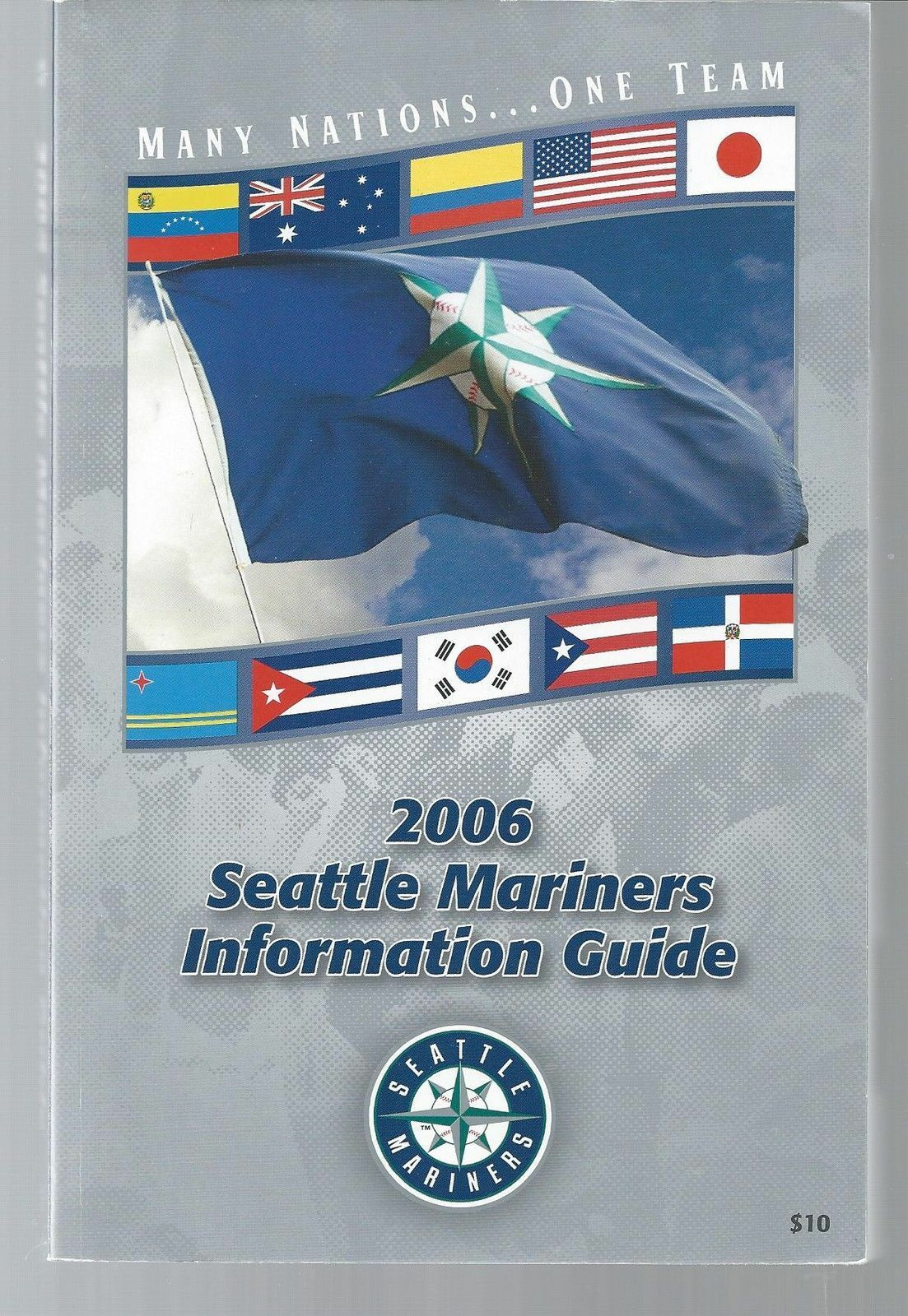 2006 Seattle Mariners Baseball MLB Media Guide - Annual Player Information