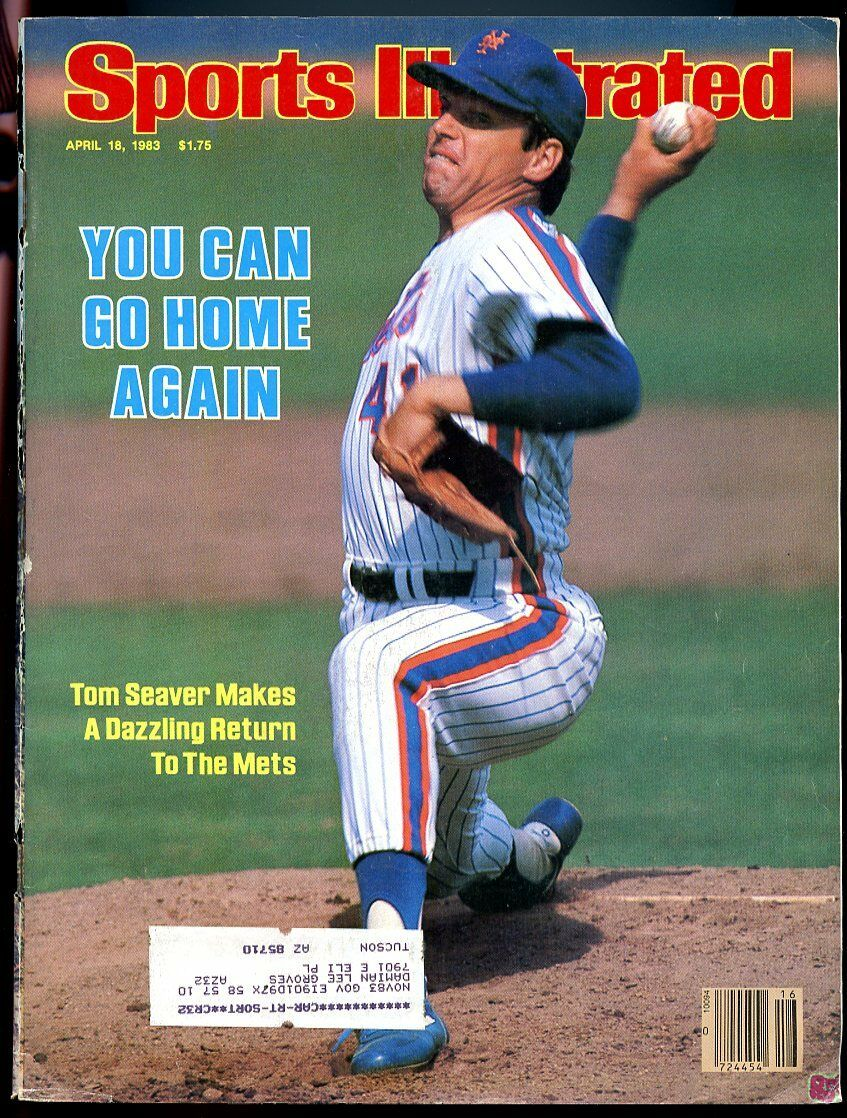 SI: Sports Illustrated April 18, 1983 Dazzling Return to the Mets Tom Seaver G