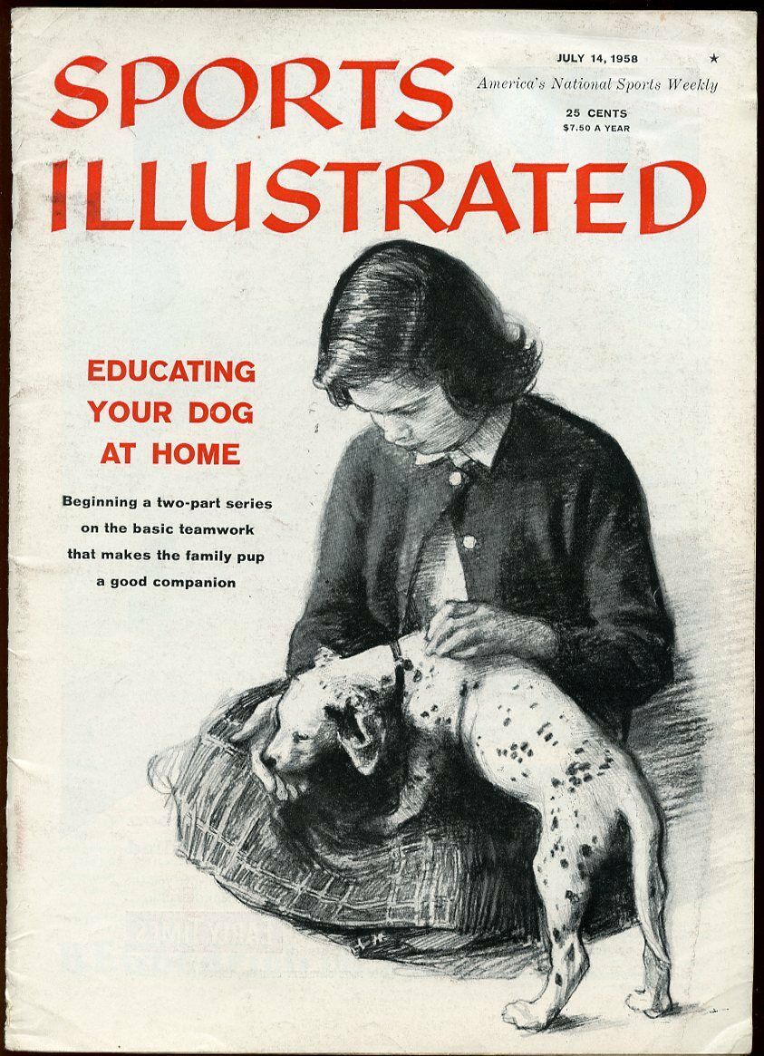 Details about SI: Sports Illustrated July 14, 1958 Educating Your Dog At  Home G