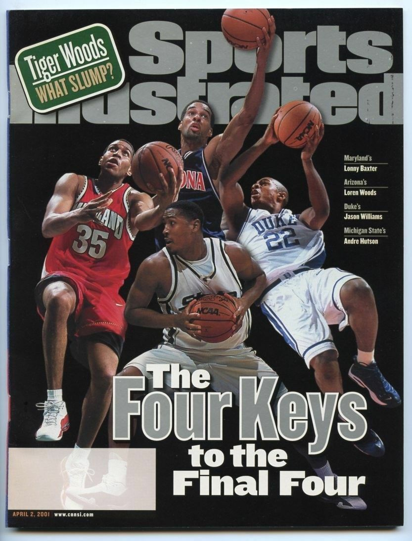 SI: Sports Illustrated April 2, 2001 The Four Keys to the Final Four, VERY GOOD