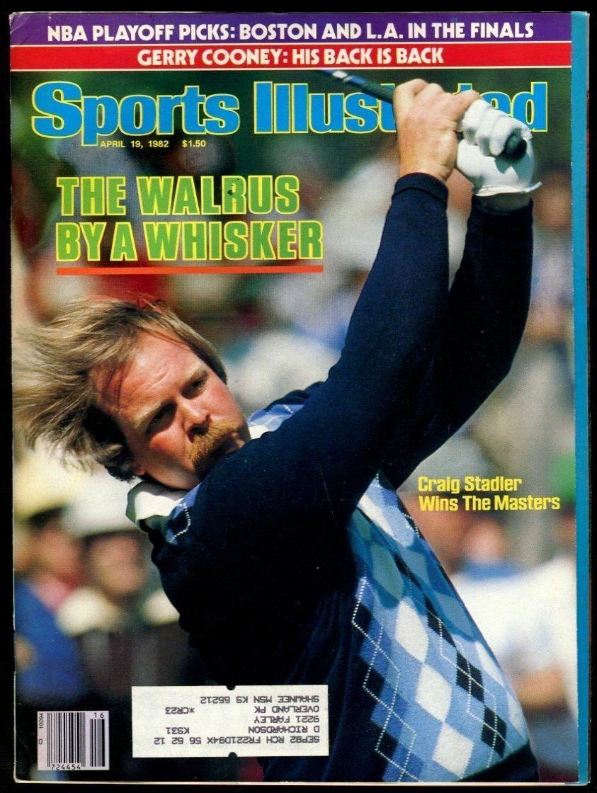 SI: Sports Illustrated April 19, 1982 Craig Stadler, Golf, VERY GOOD