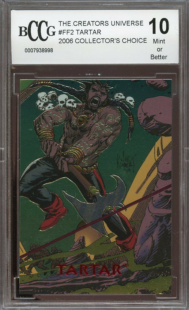 2006 collector's choice #ff2 THE CREATORS UNIVERSE TARTAR BGS BCCG 10