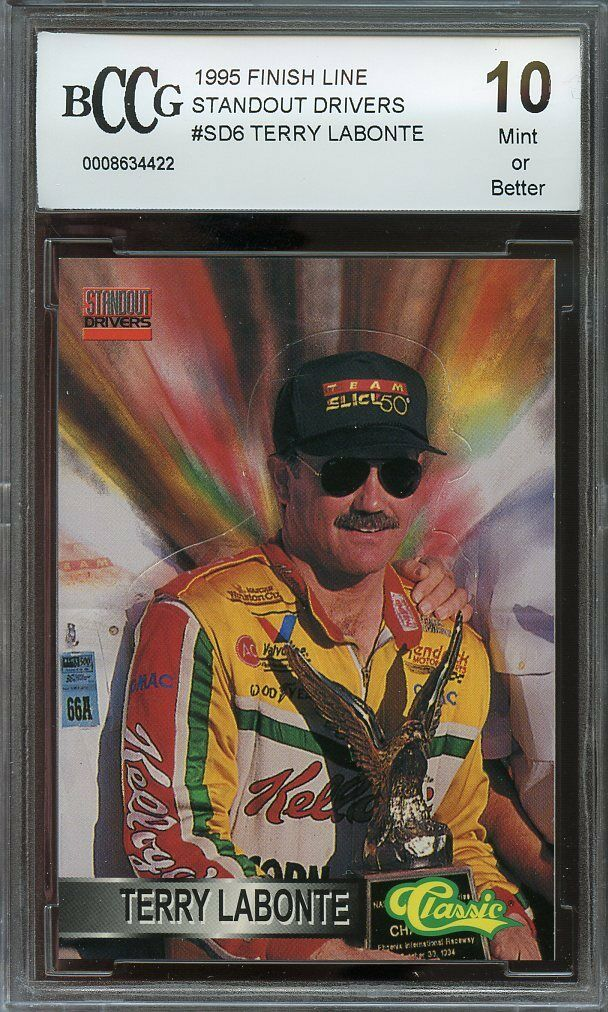 1995 finish line standout cars #sd6 TERRY LABONTE BGS BCCG 10