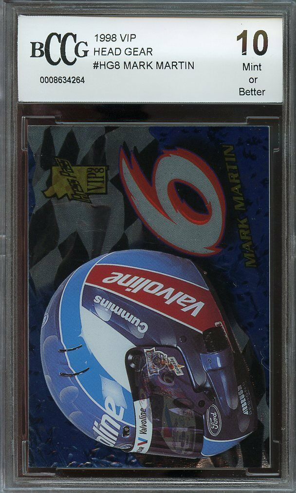 1998 vip head gear #hg8 MARK MARTIN BGS BCCG 10