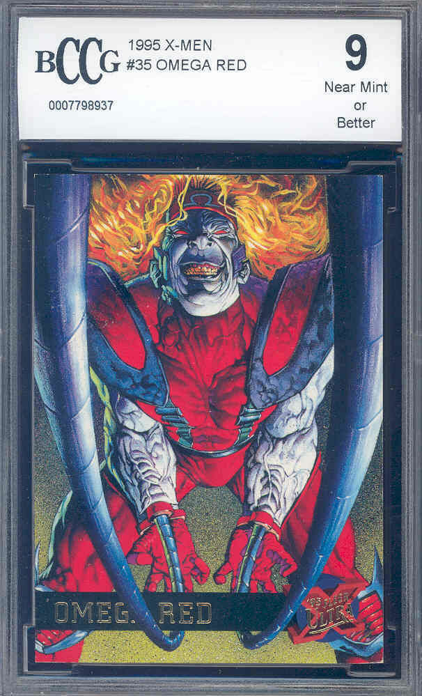 1995 x-men #35 OMEGA RED  BGS BCCG 9