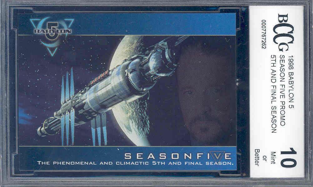 1998 babylon 5 season five promo 5TH AND FINAL SEASON BGS BCCG 10