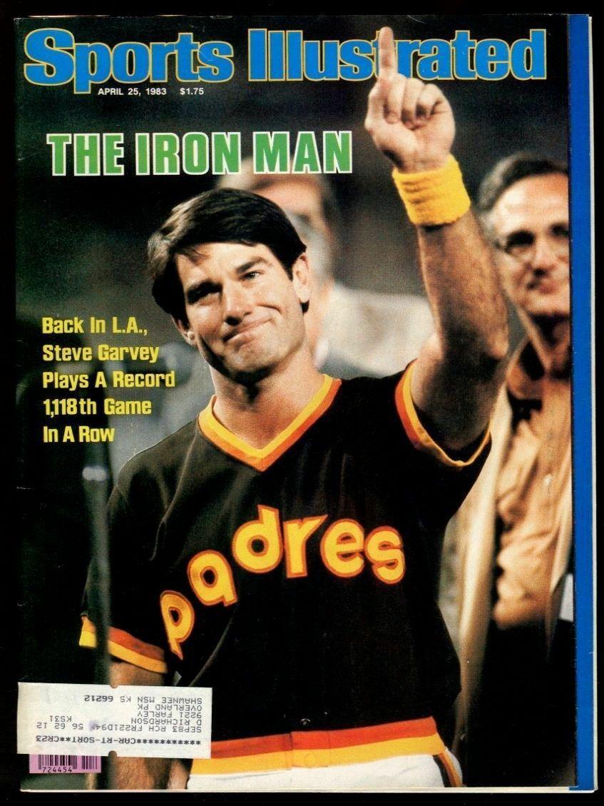 SI: Sports Illustrated April 25, 1983 Steve Garvey, Baseball, San Diego Padres