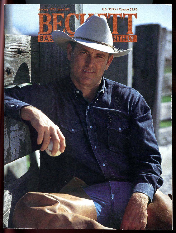 Beckett Baseball Card Monthly #82 January 1992 Nolan Ryan Texas Rangers VG