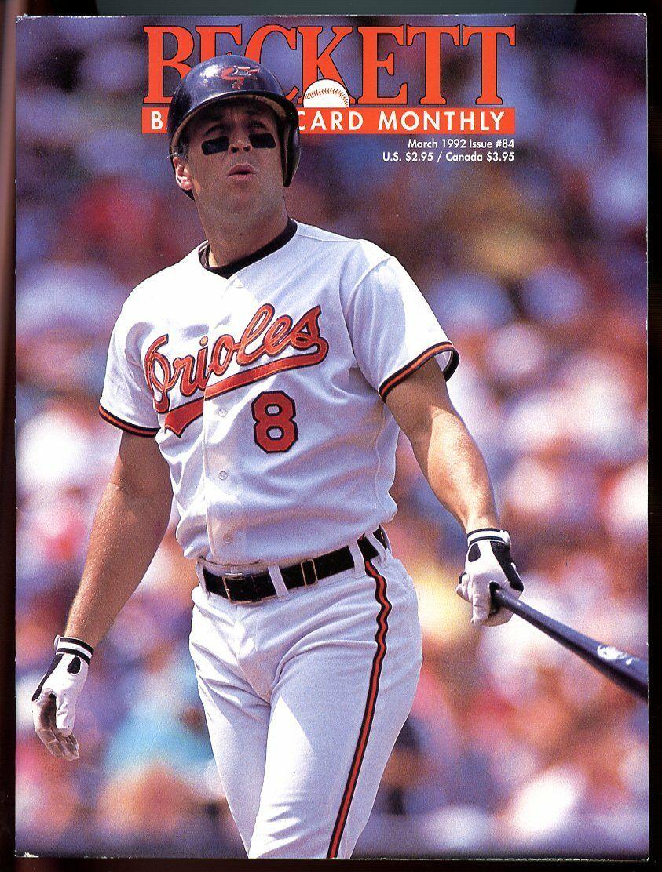 Beckett Baseball Card Monthly #84 March 1992 Cal Ripken Jr Orioles VG