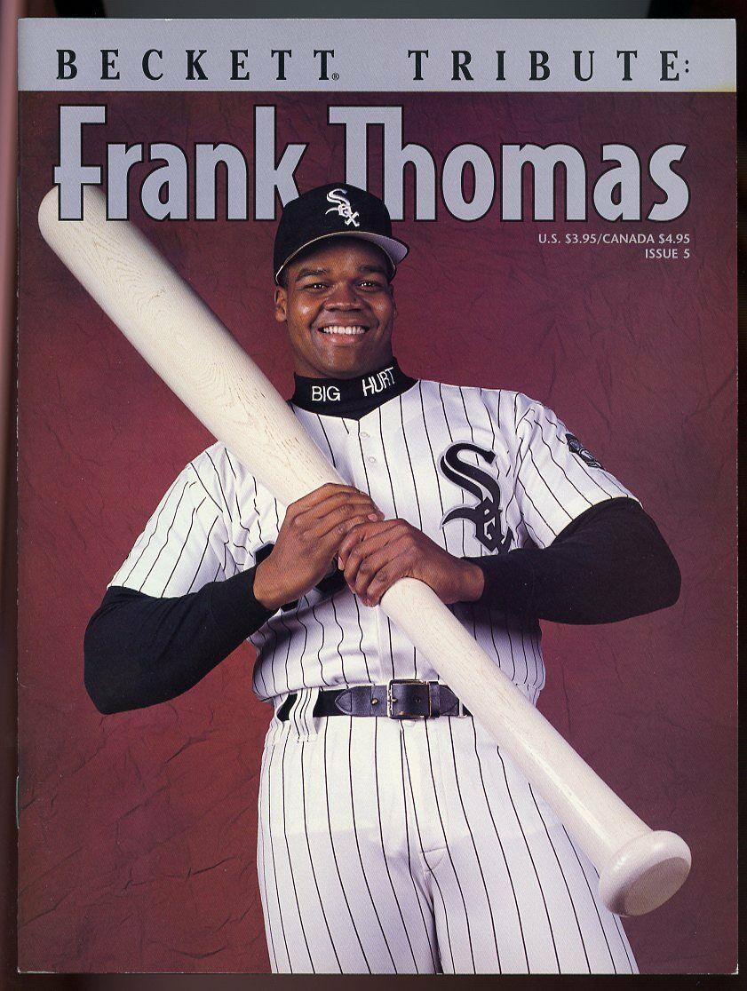 Beckett Tribute Magazine #5 Frank Thomas Chicago White Sox Cover VG
