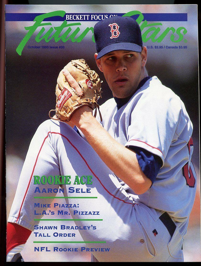 Beckett Future Stars Magazine #30 Oct 1993 Aaron Sele Boston Red Sox Cover VG