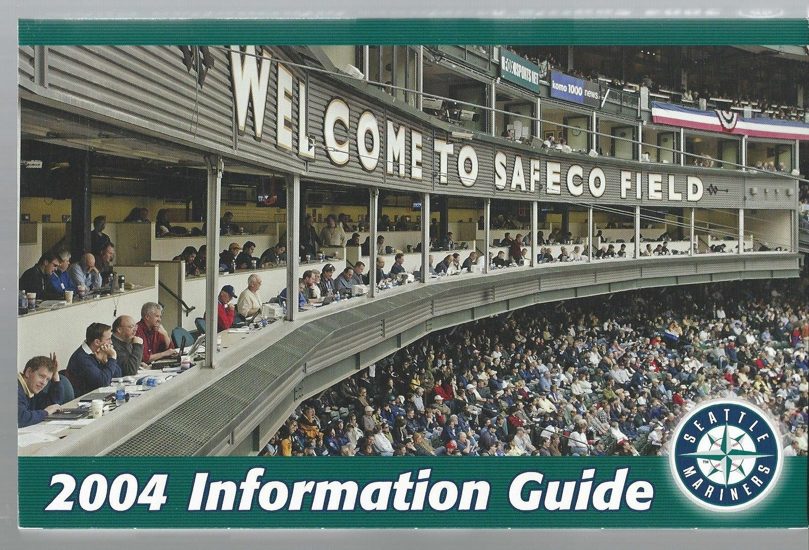 2004 Seattle Mariners Baseball MLB Media Guide - Annual Player Information
