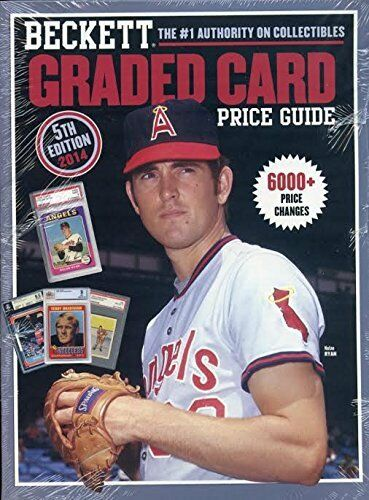 Beckett 2014 Graded Card Price Guide Book 5th Edition