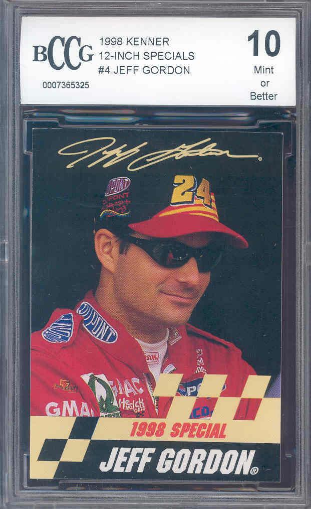 1998 kenner 12 inch specials #4 JEFF GORDON racing BGS BCCG 10