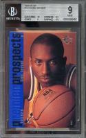 1996-97 sp #134 KOBE BRYANT los angeles lakers rookie card BGS 9 (10 8.5 9 9.5)