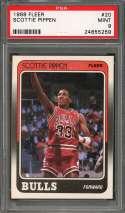 1988-89 fleer #20 SCOTTIE PIPPEN chicago bulls rookie card PSA 9