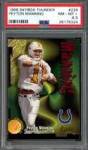 1998 skybox thunder #239 PEYTON MANNING indianapolis colts rookie card PSA 8.5