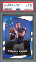 2017 panini donruss #345 DESHAUN WATSON houston texans rookie card PSA 10