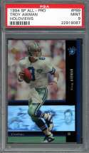 1994 sp all-pro holoviews #pb9 TROY AIKMAN dallas cowboys PSA 9