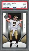2006 ultimate collection #120 DREW BREES new orleans saints PSA 9