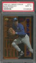 1994 u.d. minor league trade card #tc1 ALEX RODRIGUEZ mariners rookie card PSA 9