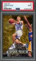 1994-95 sp #2 JASON KIDD dallas mavericks rookie card PSA 9