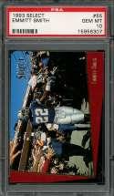 1993 select #55 EMMITT SMITH dallas cowboys PSA 10