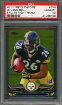 2013 topps chrome #198 LE'VEON BELL pittsburgh steelers rookie card PSA 10