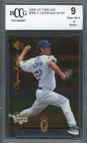 2008 ud timeline #358 CLAYTON KERSHAW 94 SP dodgers rookie card BGS BCCG 9