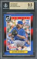 2014 donruss the rookies #74 JACOB DEGROM new york mets rookie card BGS 9.5