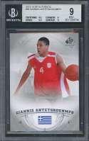 2013-14 sp authentic #36 GIANNIS ANTETOKOUNMPO bucks rookie BGS 9 (9.5 9 9.5 9)