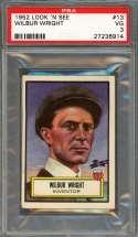1952 look 'n see #13 WILBUR WRIGHT inventor PSA 3