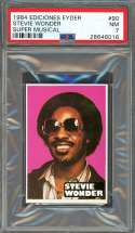 1984 ediciones eyder super musical #90 STEVIE WONDER PSA 7