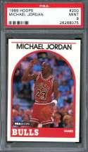 1989-90 hoops #200 MICHAEL JORDAN chicago bulls PSA 9