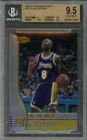 1996-97 bowman's best #r23 KOBE BRYANT lakers rookie BGS 9.5 (9 9.5 9.5 9.5)