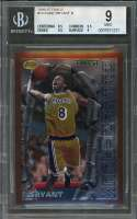 1996-97 finest #74 KOBE BRYANT los angeles lakers rookie BGS 9 (8.5 9.5 9.5 9)
