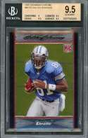 2007 bowman chrome #bc75 CALVIN JOHNSON lions rookie BGS 9.5 (9 9.5 9.5 9.5)