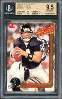 1991 action packed rookie update #21 BRETT FAVRE rookie BGS 9.5 (9.5 9.5 9.5 9)