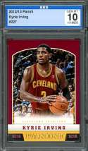 2012-13 panini #227 KYRIE IRVING cleveland cavaliers rookie card AGS 10