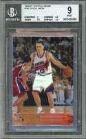 Steve Nash Rookie Card 1996-97 Topps Chrome #182 Suns BGS 9 (9 9.5 9.5 8.5)