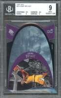 Kobe Bryant Rookie Card 1997 Spx #22 Los Angeles Lakers BGS 9 (9.5 8.5 9 9)