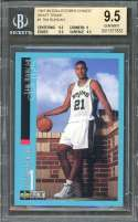 Tim Duncan 1997-98 Collector's Choice Draft Trade #1 Rc BGS 9.5 (9.5 9 9.5 9.5)