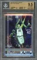 Tim Duncan Spurs Rookie Card 1997-98 Topps Chrome #115 BGS 9.5 (9.5 9.5 9.5 9)