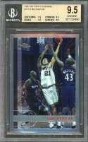 1997-98 Topps Chrome #115 Tim Duncan Spurs Rookie Card BGS 9.5 (9.5 9.5 9.5 9.5)