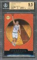 1998-99 Upper Deck Ovation Gold #79 Dirk Nowitzki Rookie BGS 9.5 (9.5 9 9.5 9.5)