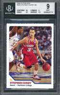Stephen Curry Rookie Card 2008 Si For Kids #304 Warriors BGS 9 (8.5 9 9.5 9.5)