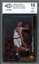 Paul Pierce Rookie Card 1998-99 Finest No Protectors #235 Celtics BGS BCCG 10