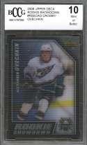 Sidney Crosby /Alex Ovechkin 2006 Upper Deck Rookie Showdown #Rsscao BGS BCCG 10